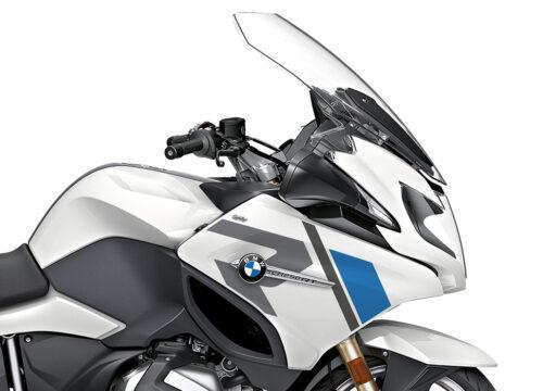 SIG 1155 02 BMW R1250RT R LINE Grey Blue Stickers Alpine White 2018 2020 Right 02
