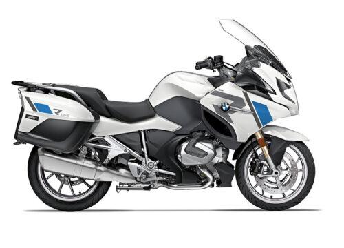 SIG 1155 02 BMW R1250RT R LINE Grey Blue Stickers Alpine White 2018 2020 Right