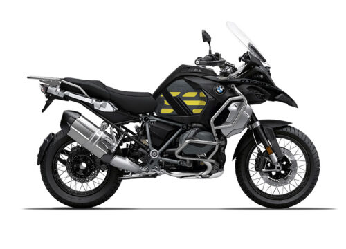 SIG 1159 02 BMW R1250 GS Adventure Triple Black GS Line Yellow Stickers Right