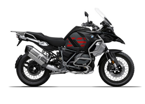 SIG 1161 02 BMW R1250 GS Adventure Triple Black GS Line Red Stickers Right
