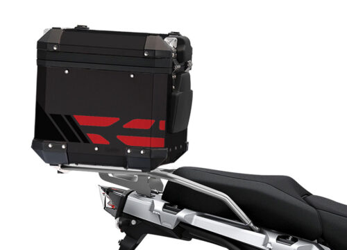 SIG 1175 BMW ALU Top Box GS Line Red Stickers 2 1