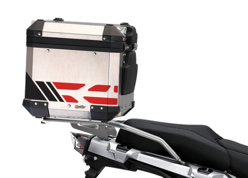 SIG 1175 BMW ALU Top Box GS Line Red Stickers 4 1