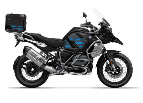 SIG 1176 BMW ALU Top Box GS Line Cobalt Blue Stickers 1