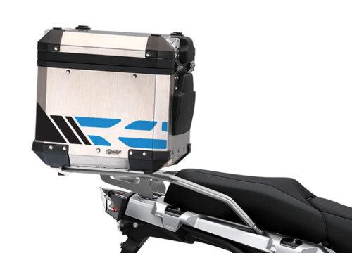 SIG 1176 BMW ALU Top Box GS Line Cobalt Blue Stickers 2 1
