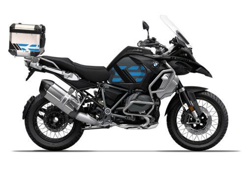 SIG 1176 BMW ALU Top Box GS Line Cobalt Blue Stickers 3